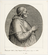 Pope Innocent VIII 1492